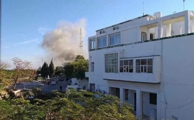 libya foreign ministry attack