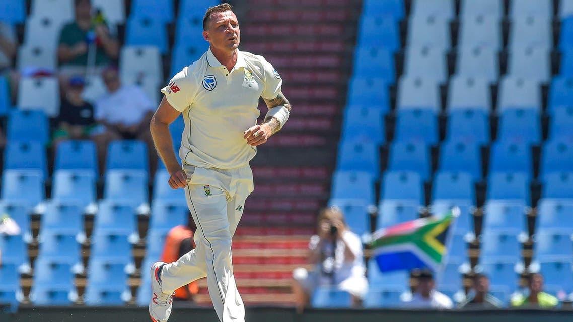 Dale Steyn celebrates after getting Pakistan's Fakhar Zaman's wicket in Pretoria on December 26, 2018. (AFP)