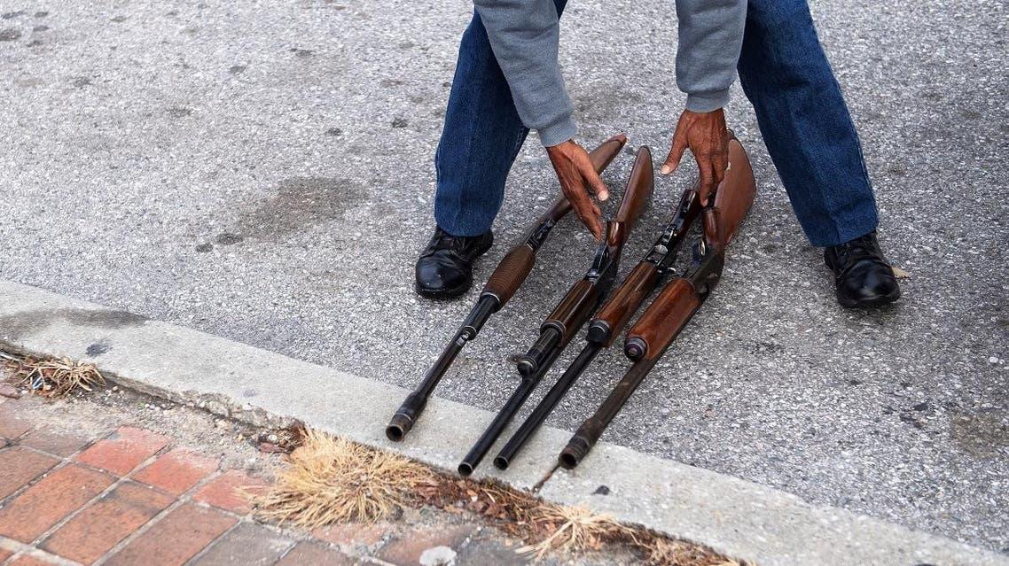 Baltimore gun buy back program. (AFP)