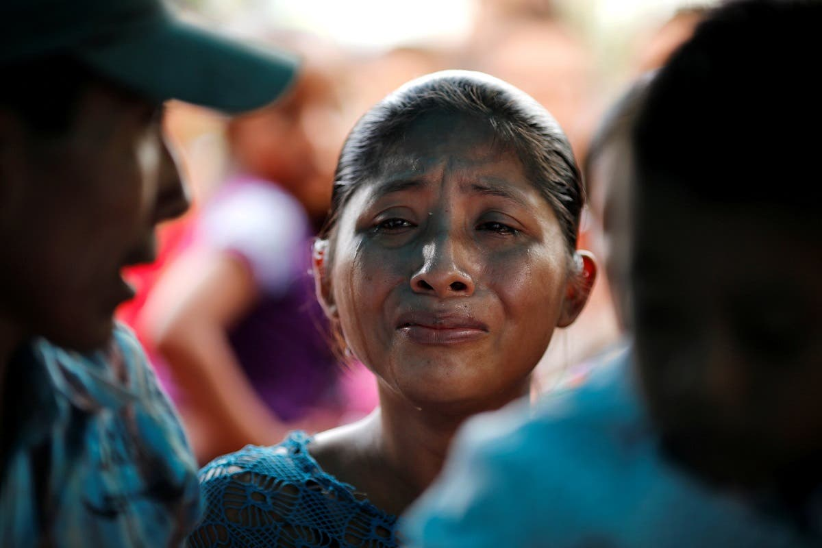 Claudia Maquin mother of Jakelin Caal, a 7-year-old girl who handed herself in to U.S. border agents earlier this month and died. (Reuters)