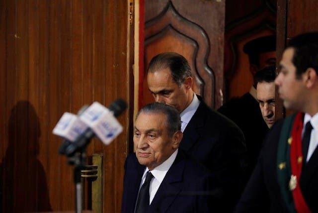 Hosni mubarak testifies against mohamed morsi. (Al Arabiya)