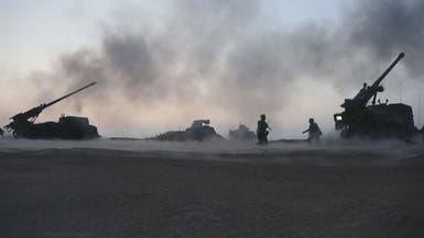 انفجارات بمستودع ذخيرة تركي قرب الحدود مع سوريا
