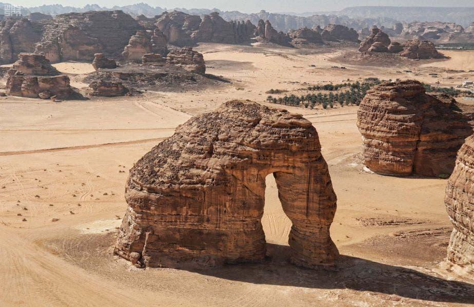 al-Ula city Saudi Arabia. (SPA)