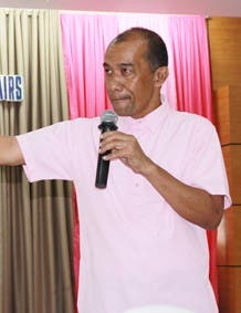 Eduardo Sanson is one of Philippine's legal luminaries and Dean of WMSU's College of Law. (Supplied)