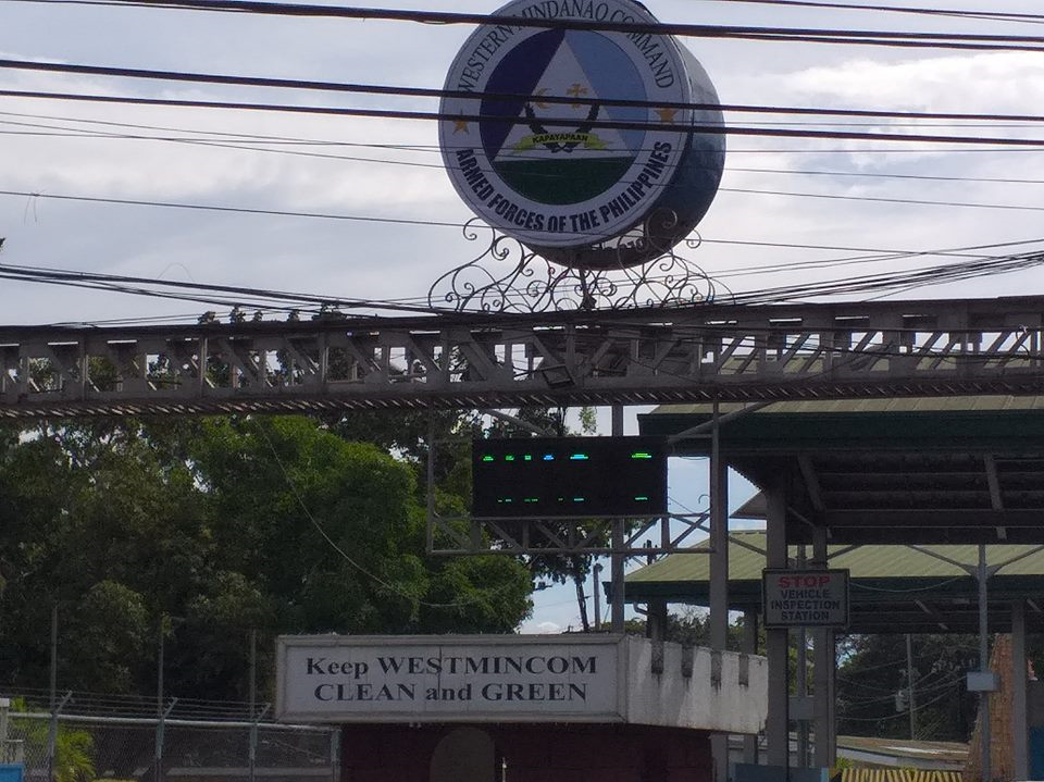 Entrance façade of Western Mindanao Command, one of the Philippine's largest military headquarters outside Manila. (Supplied)