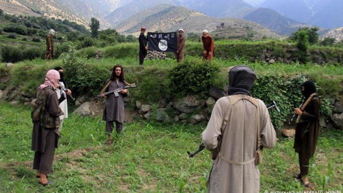 نیروهایی از داعش در افغانستان
