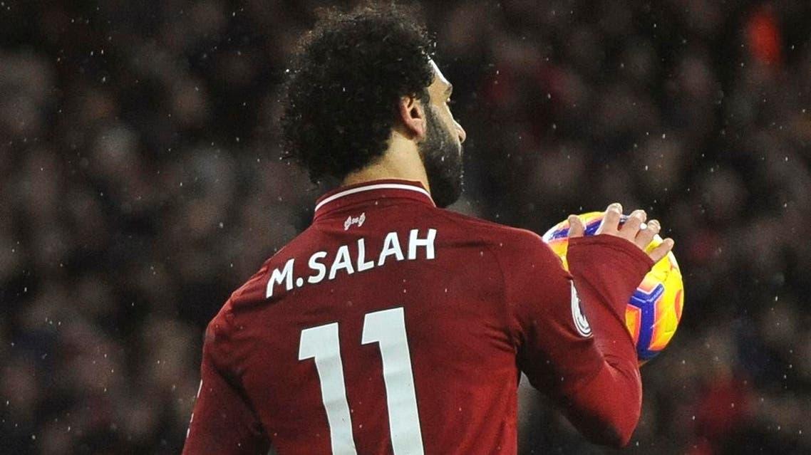 Mo Salah Liverpool. (AP)