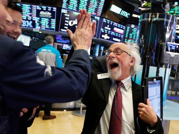 مكاسب هائلة للأسهم الأميركية.. داو جونز يتخطى 20 ألف نقطة