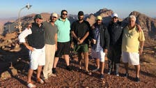 IN PICTURES: Saudi Crown Prince at the top of Mount Lawz