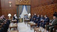 سعودی شوریٰ کے چیئرمین کی شیخ الازھر اور مصری وزیر خارجہ سے ملاقات