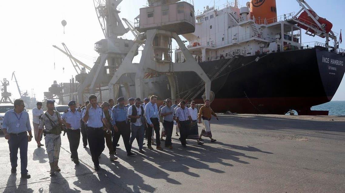 Yemen Hodeidah UN Team (AFP)