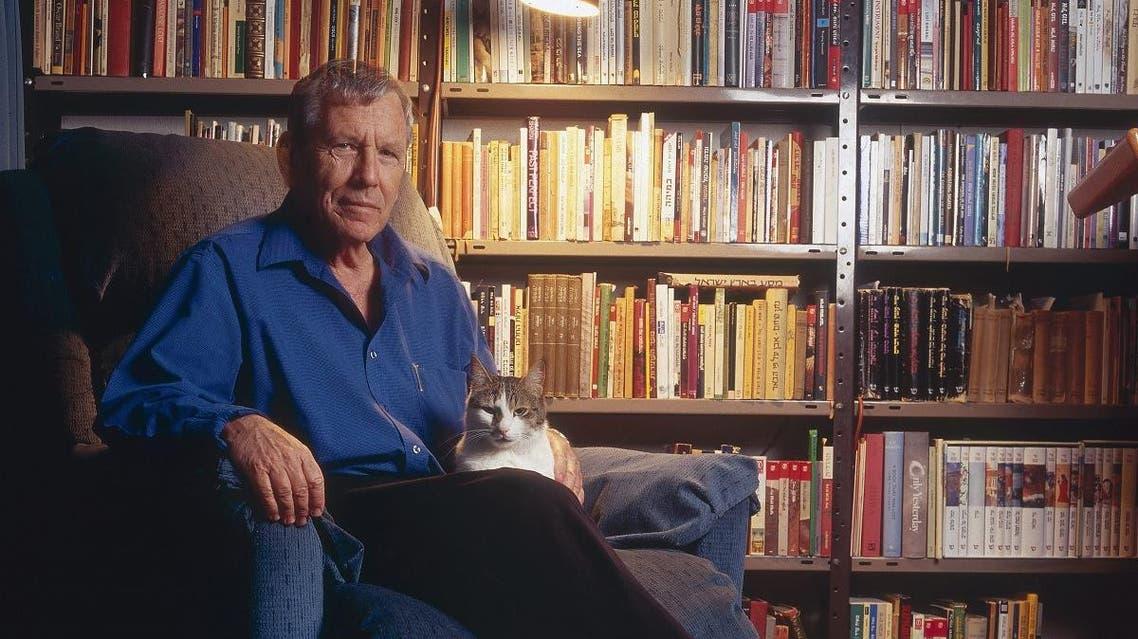 File photo of Israeli writer and peace activist Amos Oz. (AFP)
