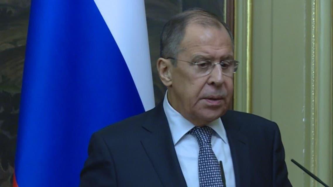 THUMBNAIL_ لافروف يرحب بعودة العلاقات الدبلوماسية بين بعض الدول العربية وسوريا.