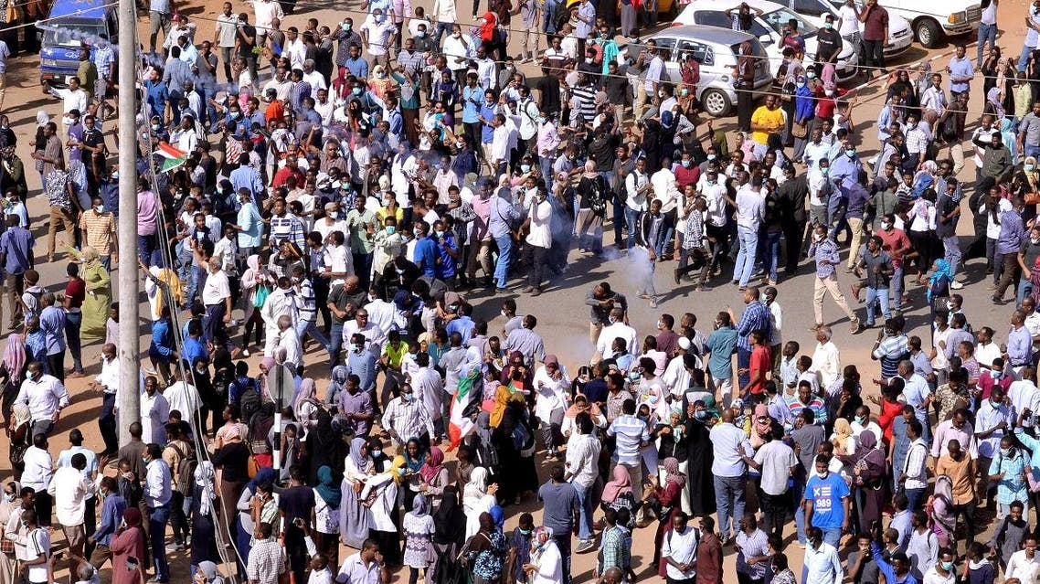 Sudan Protests in Khartoum (Reuters)