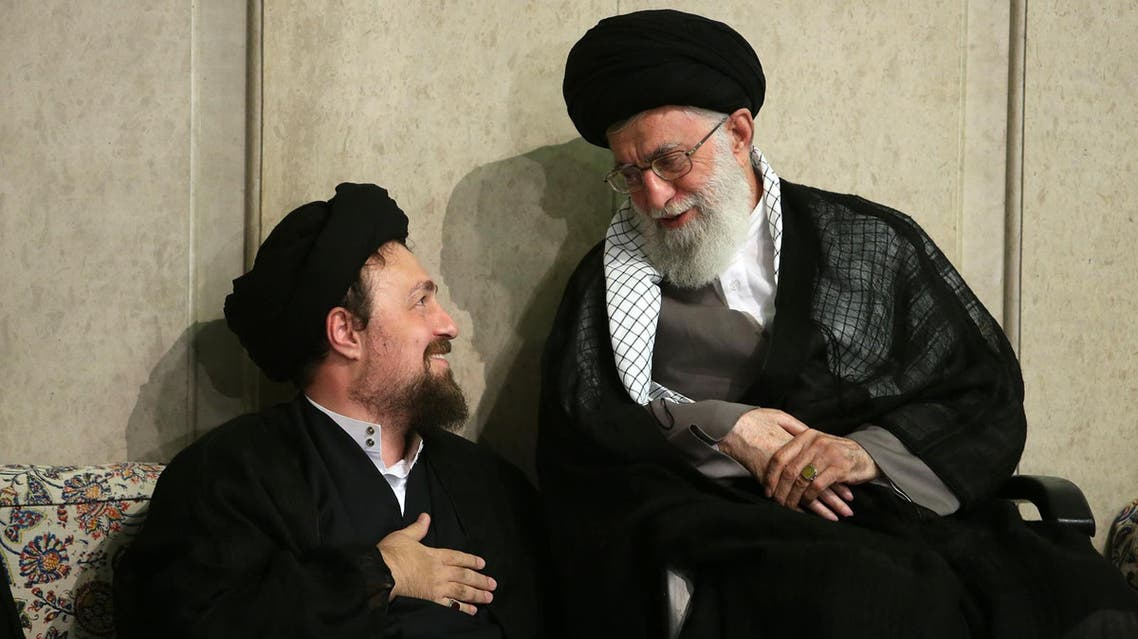 حسن خمینی و خامنهای