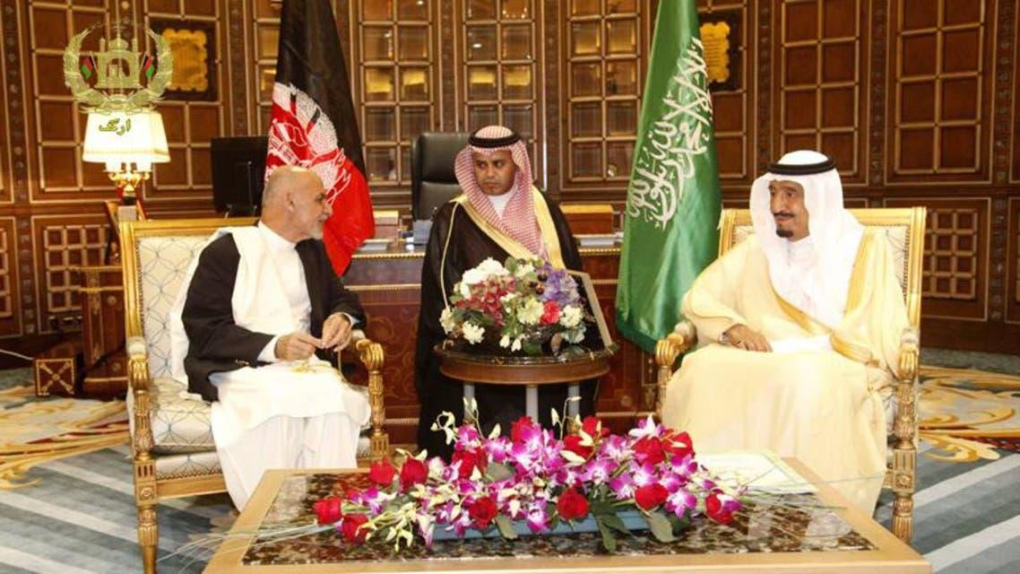 پادشاه سعودی: ما به روند صلح به رهبری افغان ها باور داریم