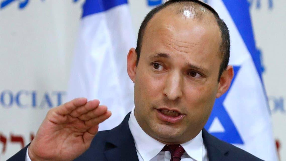 Israel's Minister of Education Naftali Bennett (AFP)