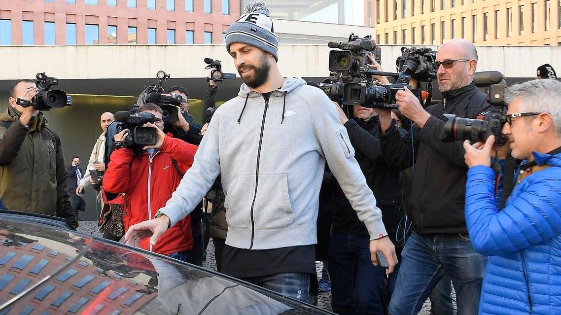 Barcelona defender Gerard Pique (AFP)