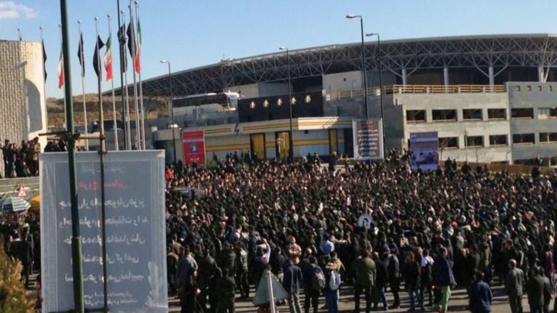 تجمع طلاب جامعة أزاد للعلوم والبحوث في طهران