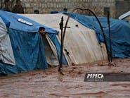 صور وفيديوهات..مآسٍ إنسانية بمخيمات مهجري الحرب السورية