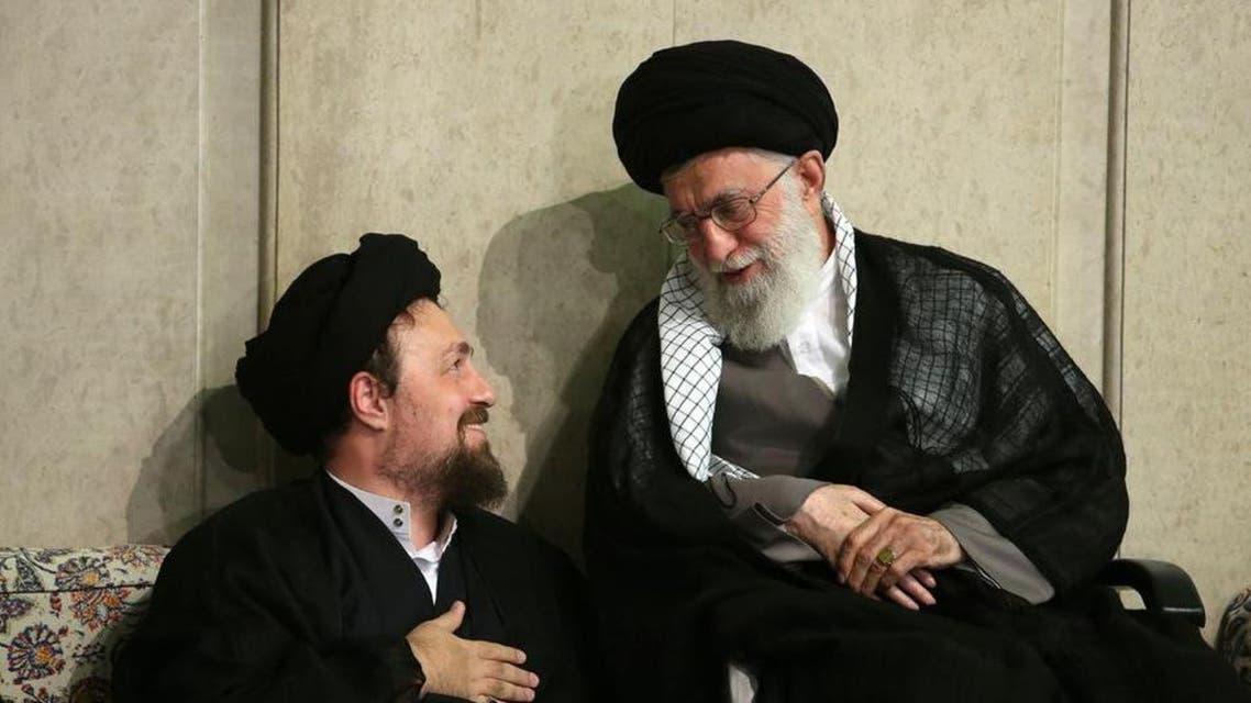 khomeini grandson (R) (Supplied)