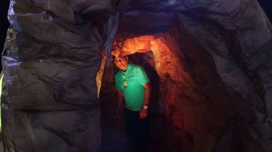 Saudi caves tourism. (SPA)
