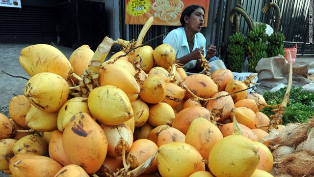 The King Coconut has several sub-varieties in Sri Lanka. (Supplied)