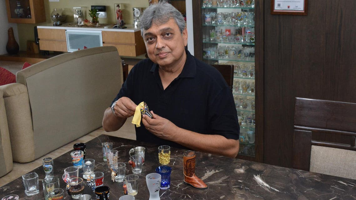 Doshi takes extreme care of his collection and cleans the glasses himself. (Supplied)