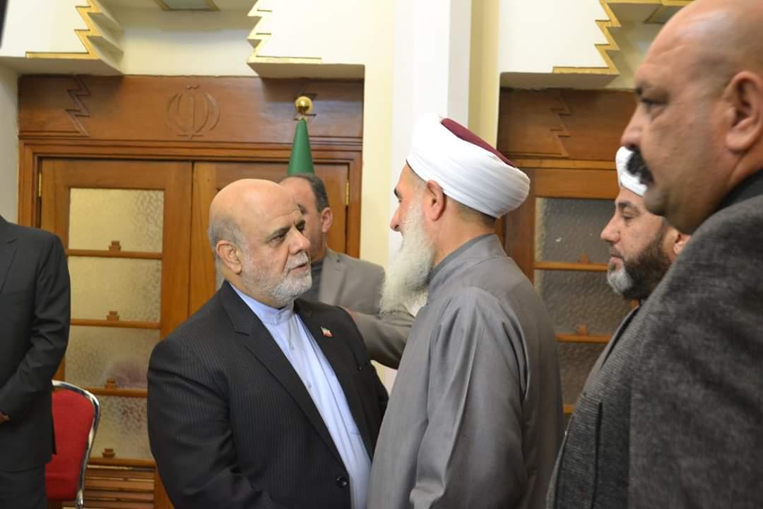 الصمیدعی و ایرج مسجدی سفیر ایران در عراق