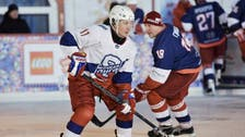 Putin plays in ice hockey match in Red Square