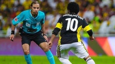الخضير والعبكري يصلان أبوظبي للمشاركة في إدارة كأس آسيا