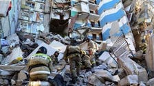 Deadly gas explosion ruins Russia building, Putin arrives on site