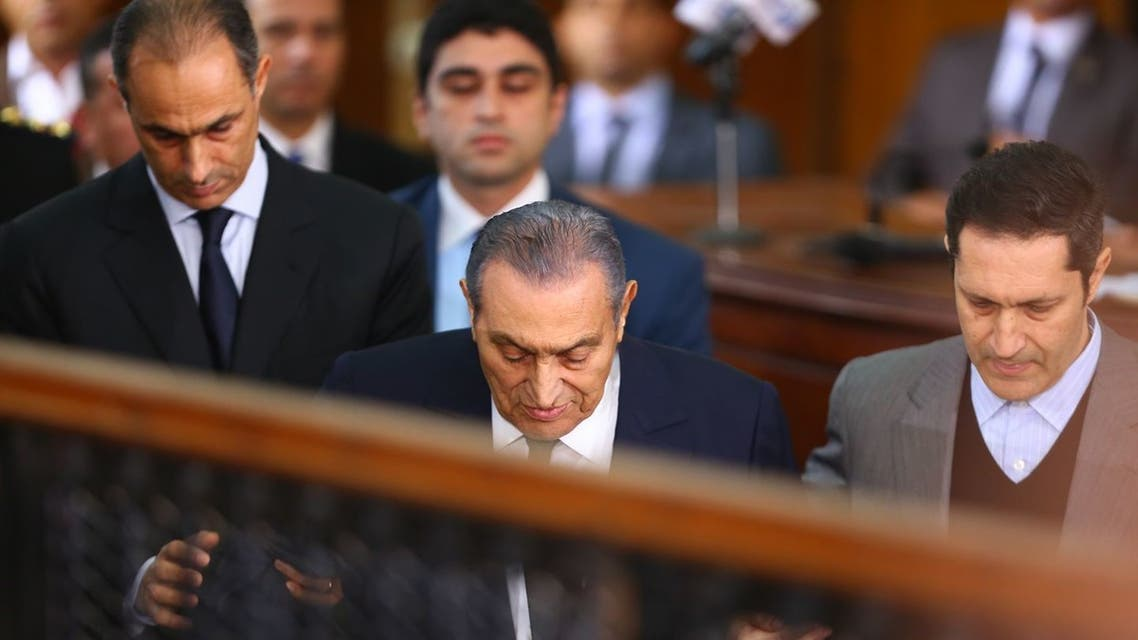 مبارك في المحكمة