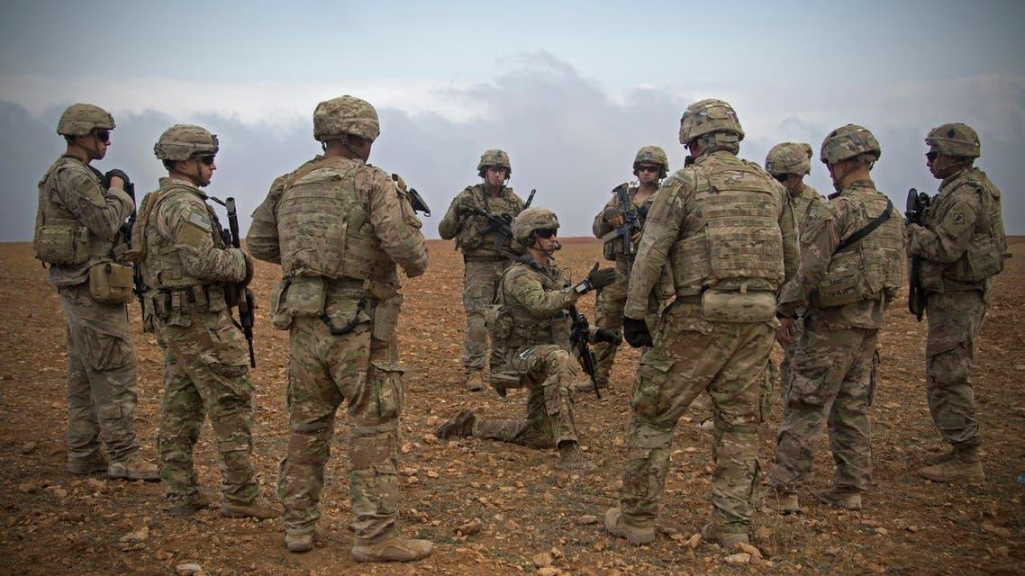 قوات أميركية في سوريا