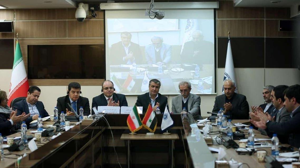همایش مشترک ایران و سوریه با حضور محمد سامر الخلیل وزیر اقتصاد و تجارت خارجی سوريه