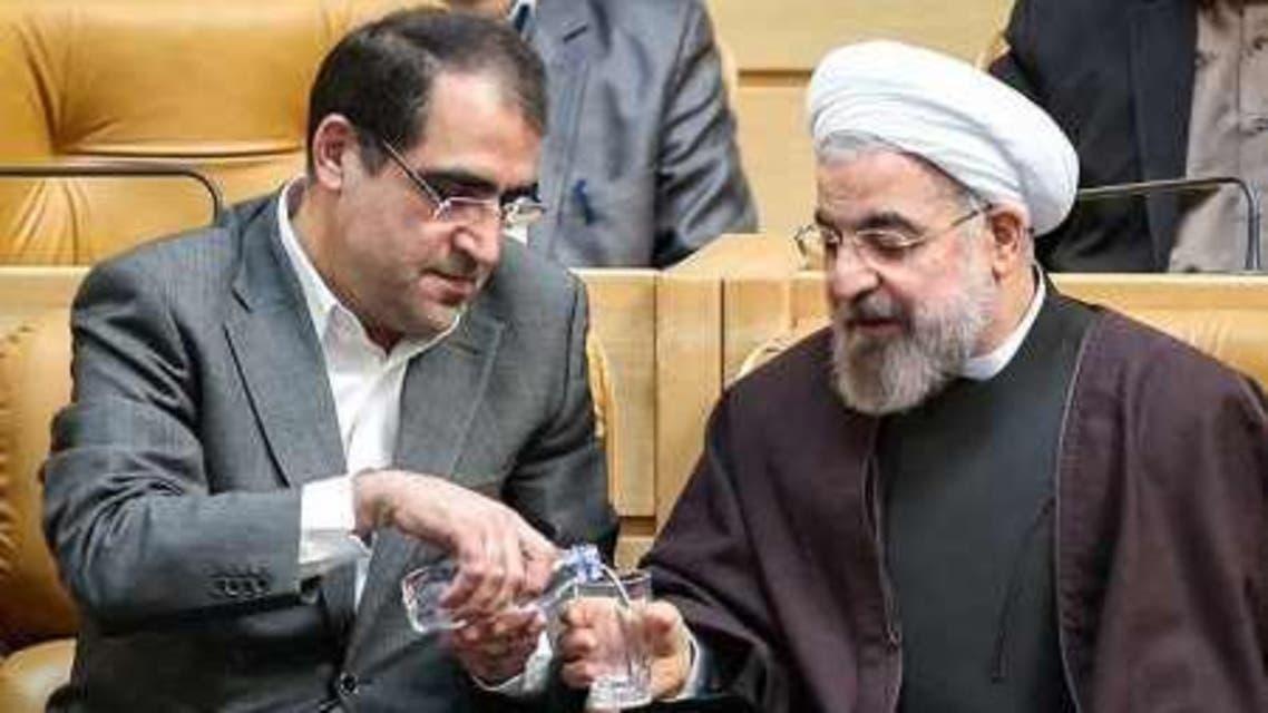 وزیر بهداشت ایران حسن قاضی زاده هاشمی
