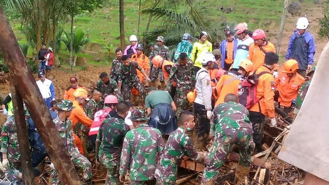 Indonesia landslide (AFP)