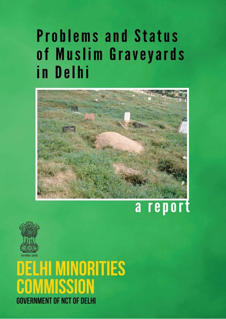 A recent study shows that in two years there will be no burial space left for Muslims, who make up 13 per cent of Delhi's population. (Supplied)