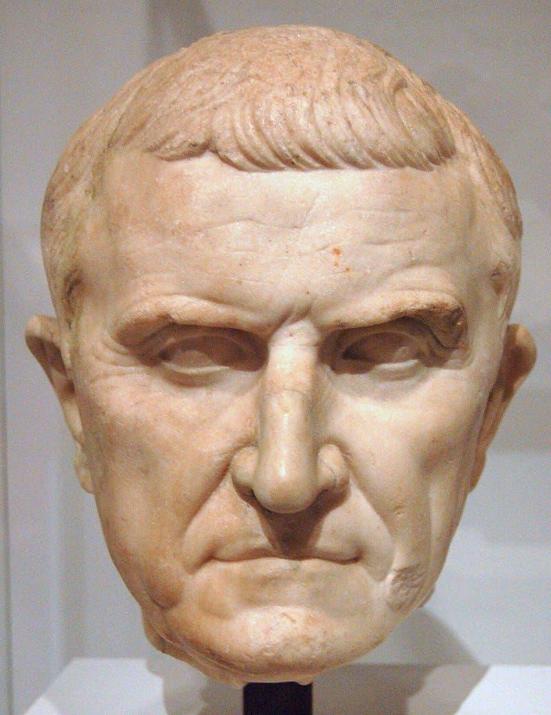 تمثال نصفي لبومبيوس الأكبر