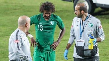 الأخضر يوضح حقيقة إصابة ياسر الشهراني