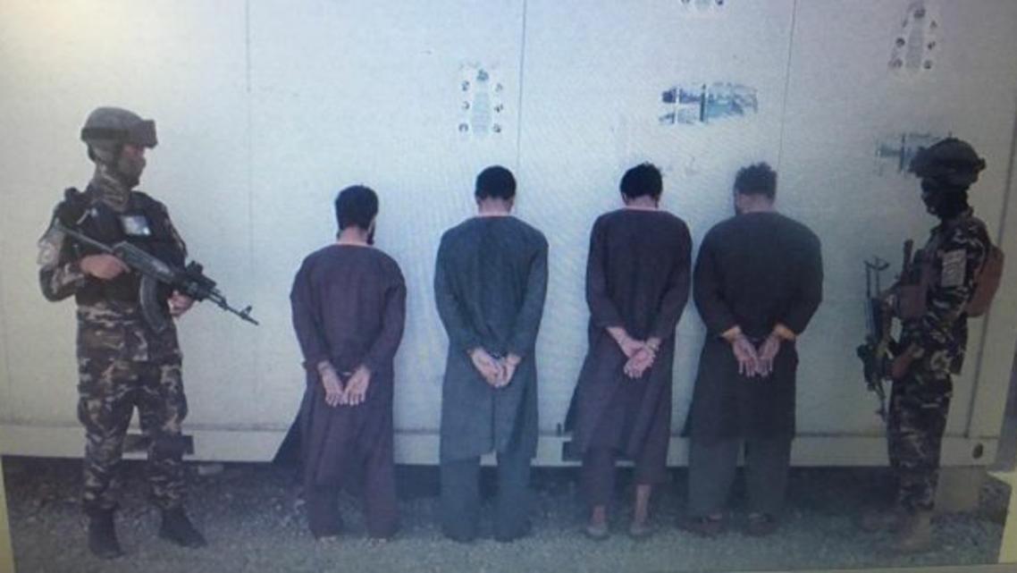 یک شبکه 4 نفری آدمربایان در کابل بازداشت و فرد ربوده شده از دست آنان آزاد شد