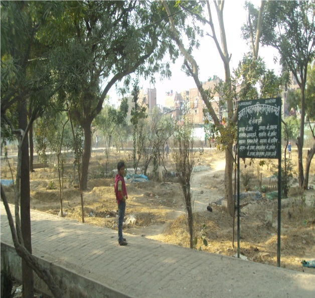Many people and government departments have occupied graveyard land over the years. (Supplied)