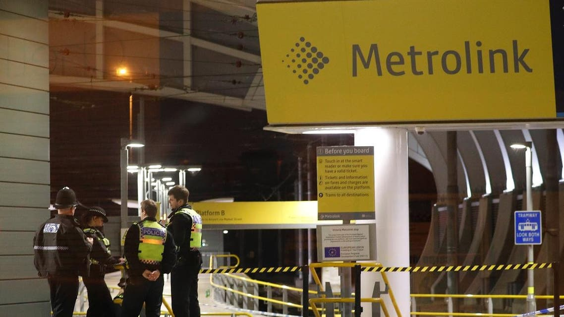 UK Manchester stabbing NYE 2019 (Reuters)