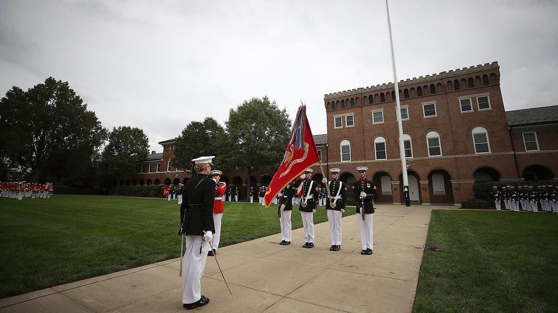 Marine barracks Washington. (AFP)
