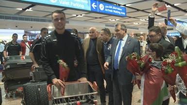 بعثة منتخب فلسطين تصل الإمارات للمشاركة في كأس آسيا