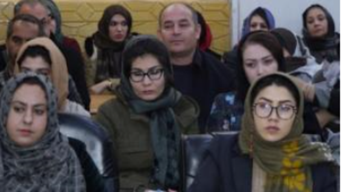 11 زن به عنوان معاونان یازده ناحیه شهر کابل پایتخت افغانستان تعیین شدند