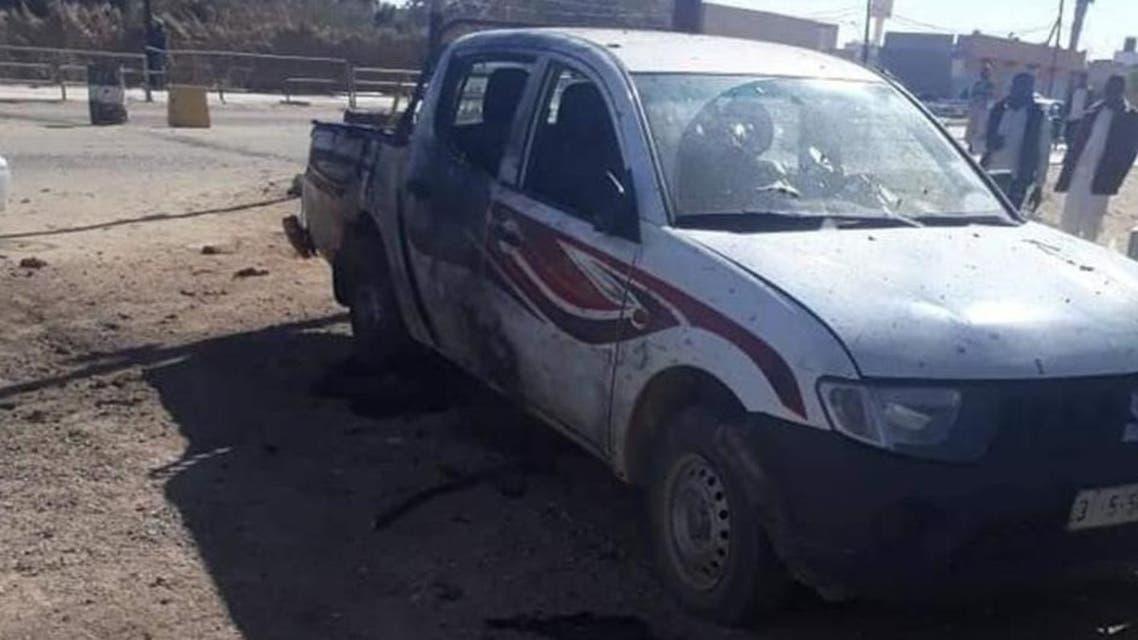 Libya suicide bombing attack. (Al Arabiya)