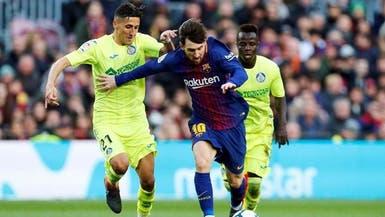 """برشلونة ينشد الابتعاد بصدارة """"لا ليغا"""" عبر نقاط خيتافي"""