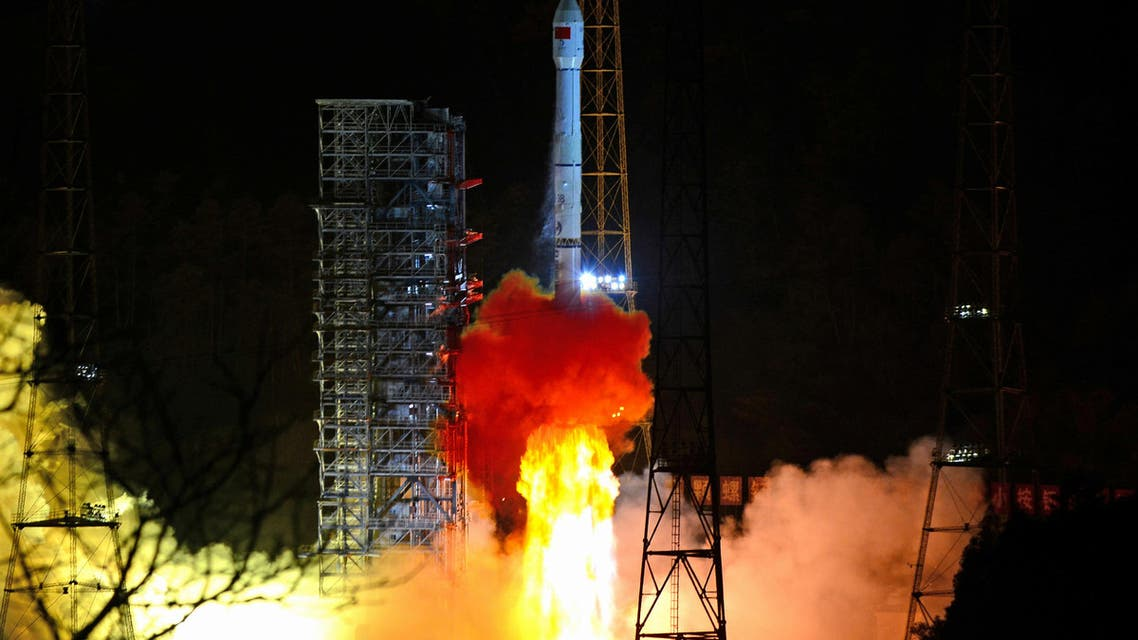 A Long March-3B rocket carrying Chang'e 4 lunar probe takes off from the Xichang Satellite Launch Center in Sichuan province on December 8, 2018. (Reuters)
