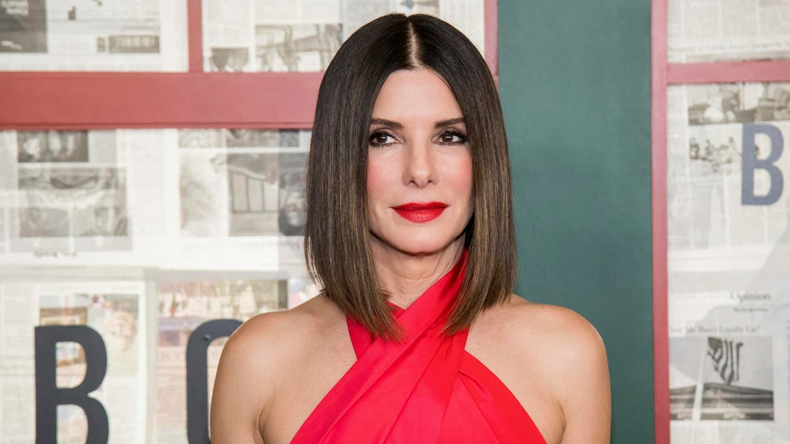 "Sandra Bullock attends a screening of ""Bird Box"" in New York on Dec. 17, 2018. (AP)"